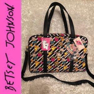 "🆕 Betsey Johnson ""LBCRUZIN"" Weekender Bag"
